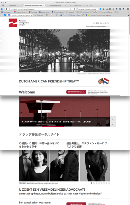 Website Dutch American Friendship Treaty