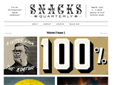 Website Snacks Quarterly