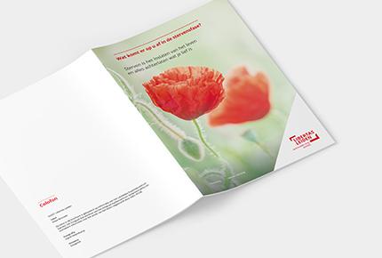 Voorkant brochure palliatieve zorg van Libertas Leiden
