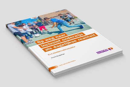 Cover rapport 'Op weg naar inclusief onderwijs als dagelijkse realiteit'